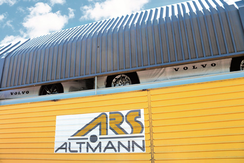 ARS Altmann Volvo train from China Pic1
